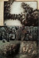 120 x 80 cm / Tempera on canvas